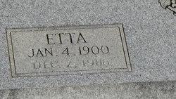 Etta <I>Smith</I> Black