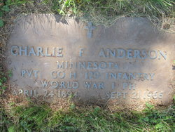 Charlie F Anderson