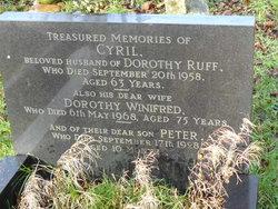 Dorothy Winifred <I>Harris</I> Ruff
