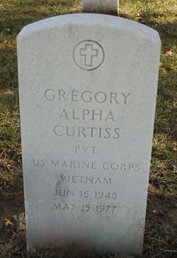 Gregory Alpha Curtiss
