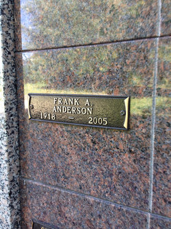 Frank A Anderson