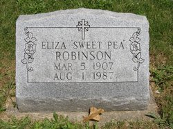 "Eliza ""Sweet Pea"" Robinson"