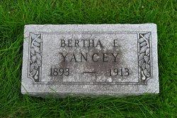 Bertha E Yancey