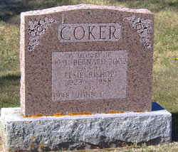Elsie M <I>Bishop</I> Coker