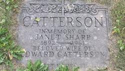Janet <I>Sharp</I> Catterson