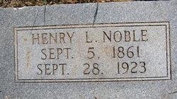 Henry L. Noble