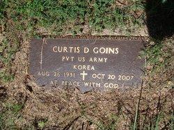 """Curtis Doyle """"Curt"""" Goins"""