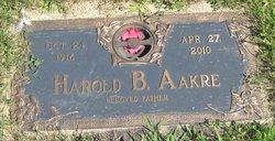 Harold Burnett Aakre