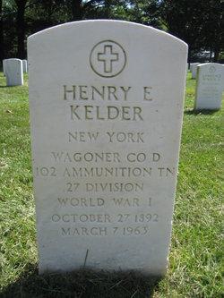 Henry E Kelder