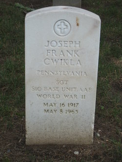 Joseph Frank Cwikla