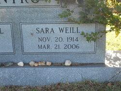 "Sara ""Sis"" <I>Weill</I> Kantrow"