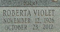 Roberta Violet <I>Duck</I> Farley