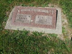 Gordon Wilmur Brown