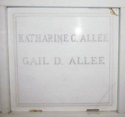 Katharine <I>Clark</I> Allee