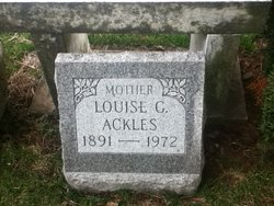 Louise <I>Grillot</I> Ackles