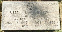 Charles M Crowe