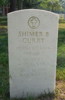 Shimer B Curry