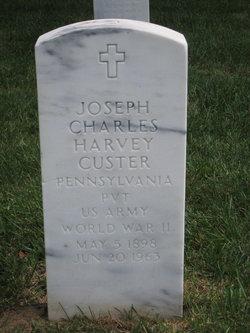 Joseph Charles Harvey Custer