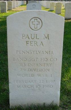 Paul M Fera