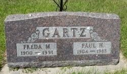 Freda M <I>Karkhoff</I> Gartz