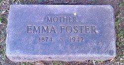 Emma <I>Schultz</I> Foster