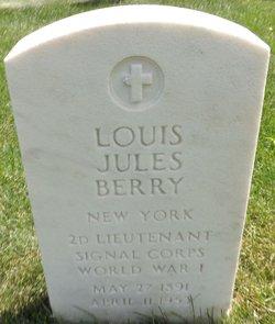 Louis Jules Berry