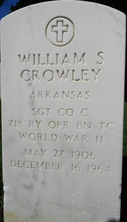 William S Crowley