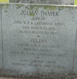 Julian Thayer Abbot