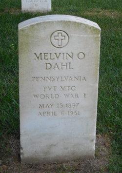 Melvin O Dahl