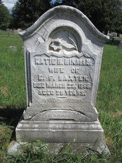 Katie R. <I>Hinman</I> Baxter