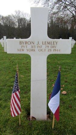 Pvt Byron J Lemley