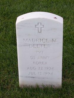 Maurice M Deeter