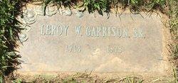 Leroy W. Garrison, Sr