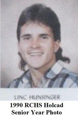 """Lincoln Antony """"Linc"""" Hunsinger"""