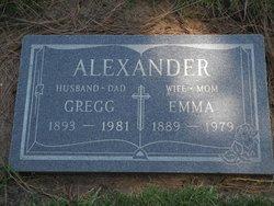 "Joseph Gregory ""Gregg"" Alexander"