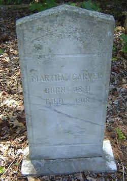 Pattie Martha <I>Thomas</I> Carver