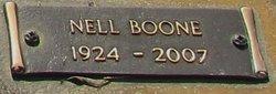 Nell <I>Boone</I> Tucker