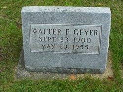Walter Franklin Geyer