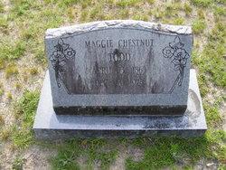 """Mary Margaret """"Maggie"""" <I>Chestnut</I> Todd"""