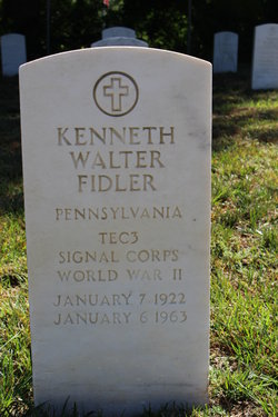 Kenneth Walter Fidler, Sr