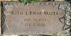 Maria Luisa Celia <I>Rueda y Martinez</I> Valera