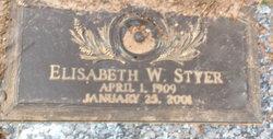 Elizabeth W. Styer