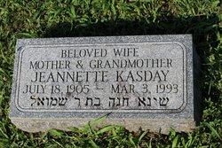 Jeannette <I>Lewis</I> Kasday