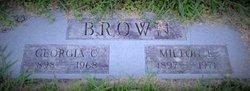 Georgia <I>Cosner</I> Brown