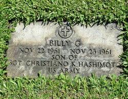 Billy G. Hashimoto