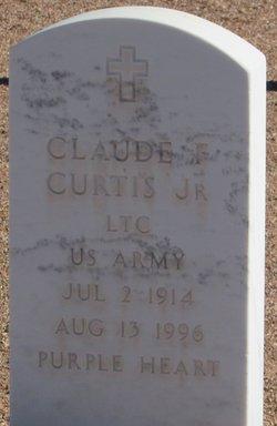 Claude F Curtis, Jr