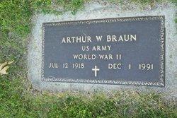 """Arthur W """"Buba"""" Braun"""
