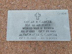 Oscar R Garcia
