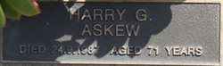 Harry G. Askew