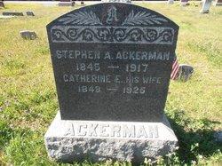 Catherine E Ackerman